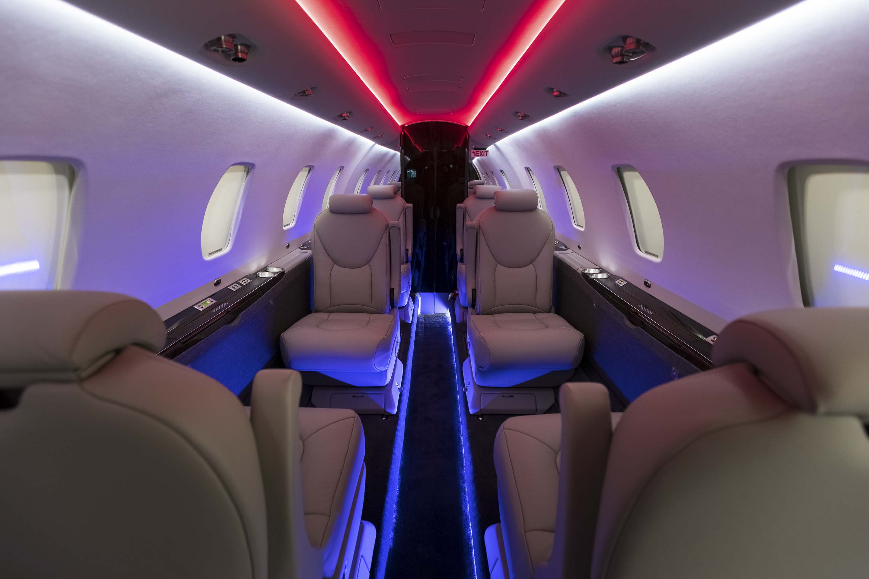 PRIZM cabin lighting by Elliott Technologies