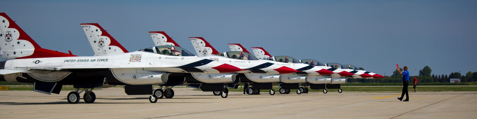 Thunder Birds Flight Team at Flightstar